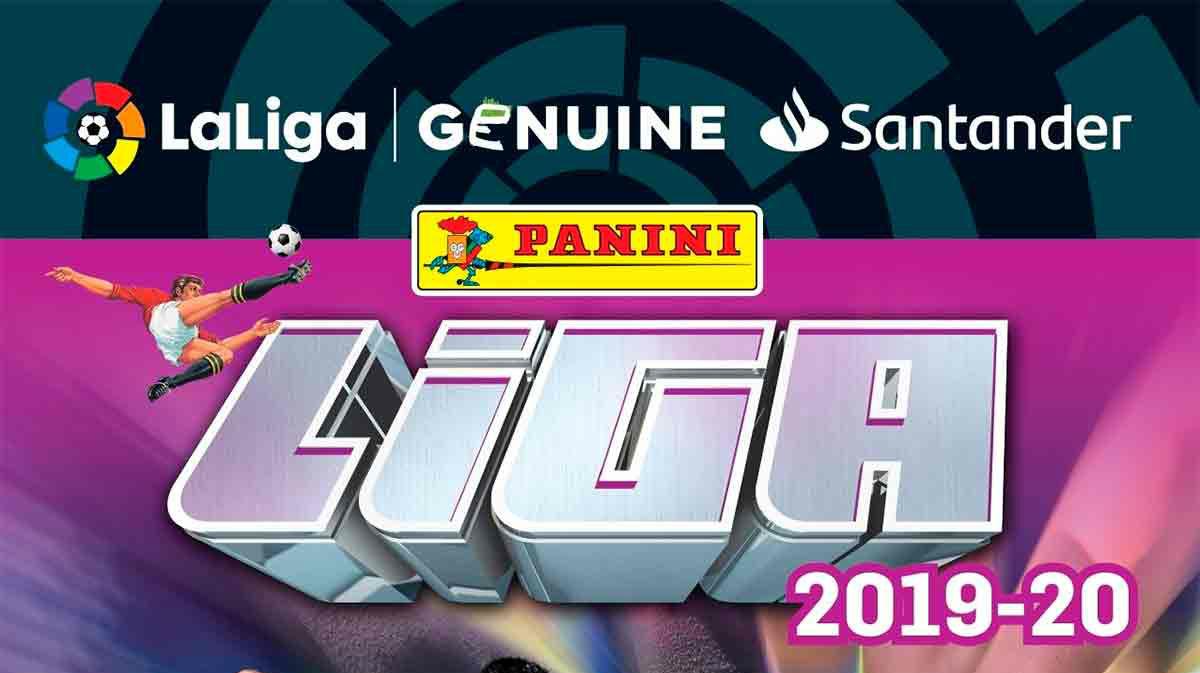 El álbum de cromos de Panini de LaLiga Genuine Santander ya es una realidad