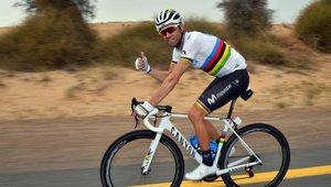Alejandro Valverde, de Movistar, en una foto de archivo