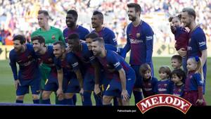 La alineación del Barça ante el Athletic