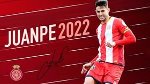 El anuncio oficial del club por la renovación de Juanpe