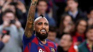 Arturo Vidal necesita marcar en la Champions