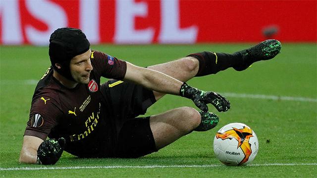 Así fueron las últimas paradas de Cech como profesional