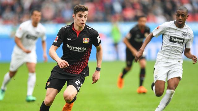 Así juega Kai Havertz, la perla del Bayer Leverkusen