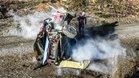 Así quedó el Hyundai de Neuville tras el accidente