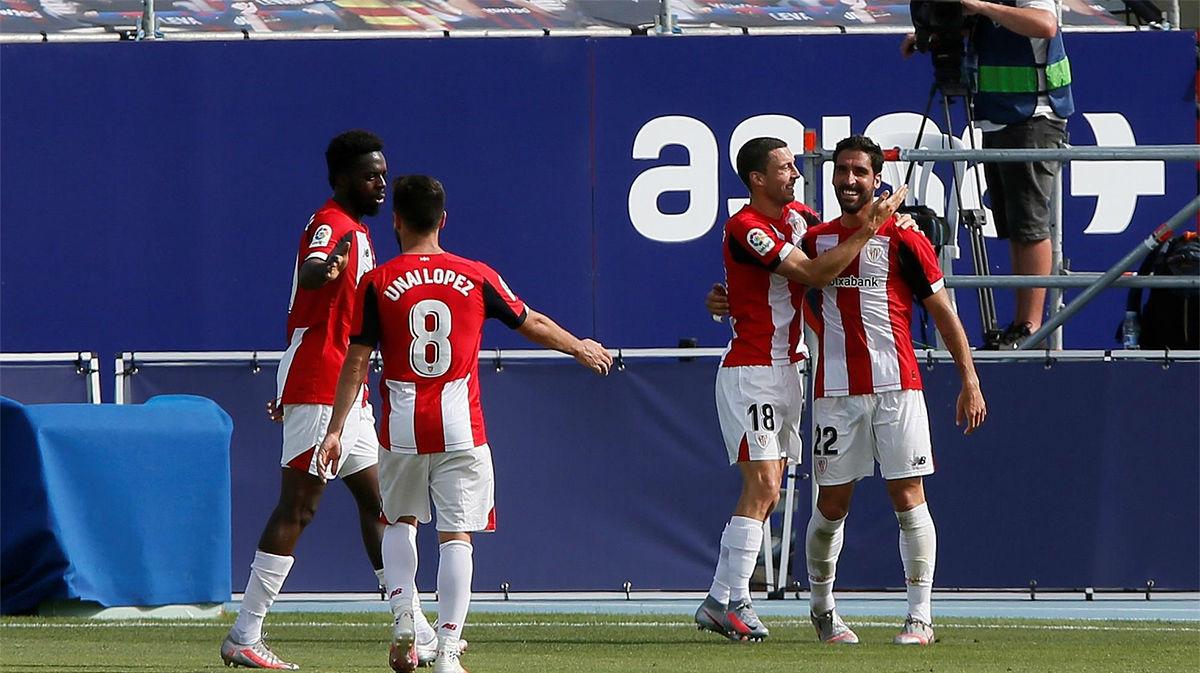 El Athletic gana y apura sus opciones europeas ante el Levante