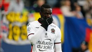 Balotelli denunció gritos racistas durante el partido ante el Bastia.