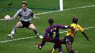 El Barça derrotó al Arsenal en la final de la Champions League de 2006