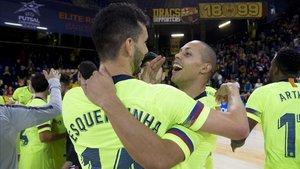 El Barça Lassa será primero si gana al Valdepeñas en el Palau