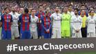 Barça y Madrid rindieron homenaje a las víctimas en el clásico del Camp Nou de la Liga 2016/17