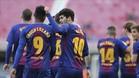 El Barça B mantiene la esperanza tras su victoria en Gijón