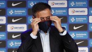 Bartomeu ha vivido días de tensión por su pulso con Messi