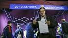 Benedito, en una de las carpas antes del partido ante el Eibar