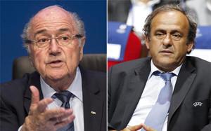 Blatter y Platini han sido sancionados por la FIFA