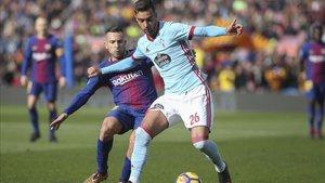 Brais se dio a conocer futbolísticamente en un gran partido en el Camp Nou, donde vuelve este sábado