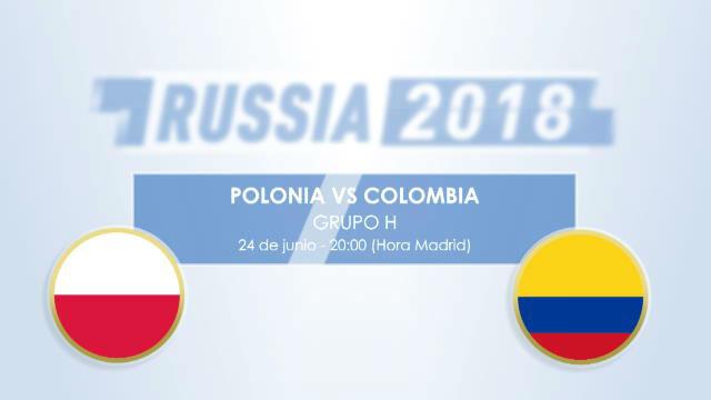 Cara a cara: Polonia VS Colombia