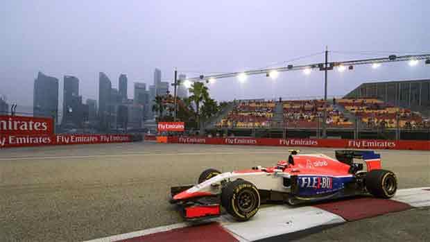 El circuito Marina Bay del GP de Singapur de F1 (ES)