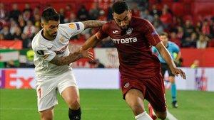 El Cluj se midió al Sevilla en la fase de grupos de la presente Europa League.