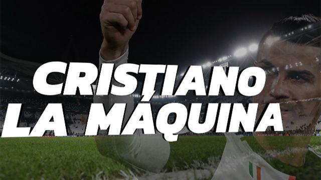 Cristiano, la máquina del gol