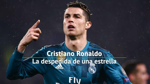 Cristiano Ronaldo, la despedida del Real Madrid