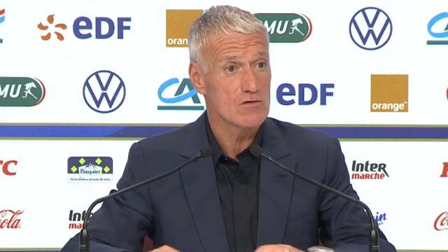 Deschamps: En Francia hago jugar a Griezmann en otra posición
