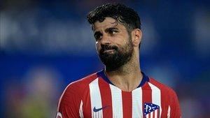 Diego Costa está rindiendo por debajo de lo esperado en su retorno al Atlético