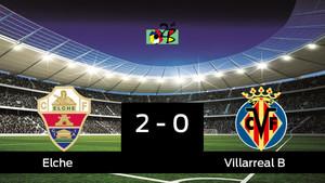 El Elche se adelanta en la eliminatoria tras vencer 2-0 al Villarreal B