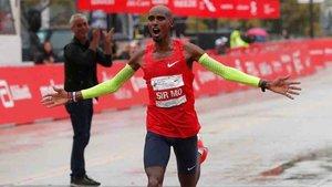 Mo Farah ganó la Maratón de Chicago