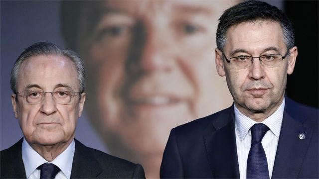 Florentino Pérez: Núñez tuvo mucho que ver en que Barça y Madrid sean hoy los dos mejores clubes del mundo