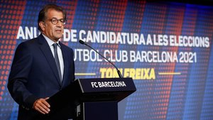 Freixa será candidato a la presidencia del Barça