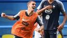 Griezmann, delantero de la selección de Francia