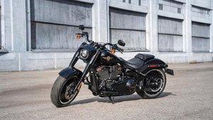 La Harley Davidson Fat Boy 114
