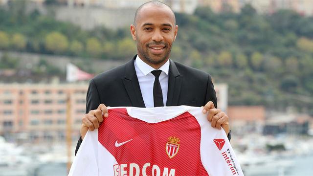 Henry ya luce como técnico del Mónaco