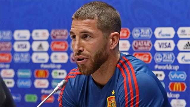 Hierro y Ramos hablaron antes de primer partido ante Portugal