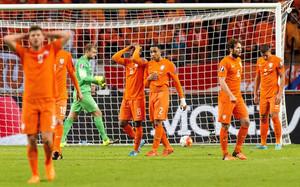 Holanda quedó fuera de la Eurocopa
