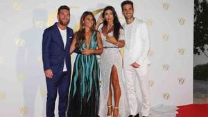 Imágenes de la boda de Cesc Fàbregas y Daniella Semaan en Ibiza