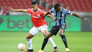 Inter de Porto Alegre no pudo de local ante Gremio