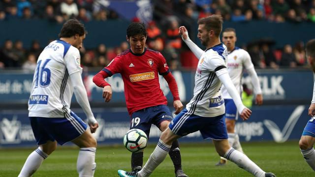 LALIGA 123   Osasuna - Zaragoza (1-2)