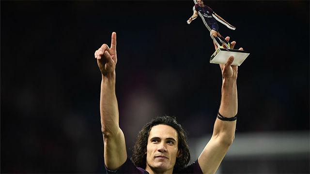 LALIGA FRANCIA | PSG - Montepellier (4-0): Cavani se convierte en el máximo goleador de la historia del PSG