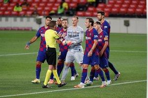 Las imágenes del FC Barcelona 2 At Madrid 2