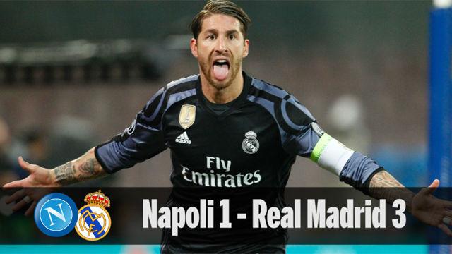 Las mejores imágenes del Napoli - Real Madrid (1-3)