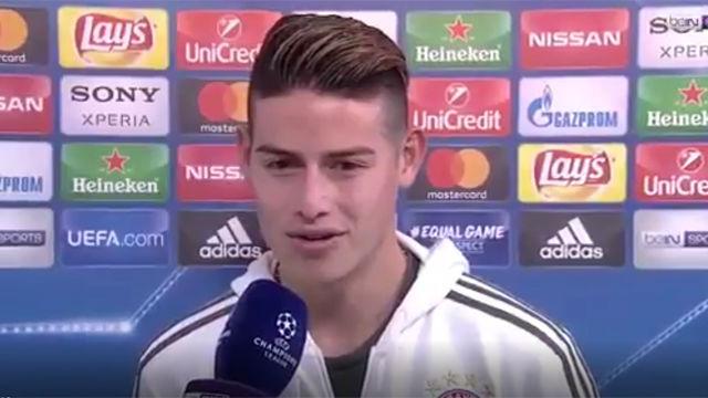 Las polémicas declaraciones de James tras el Real Madrid-Juventus