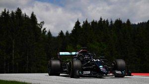Lewis Hamilton, sancionado en Austria