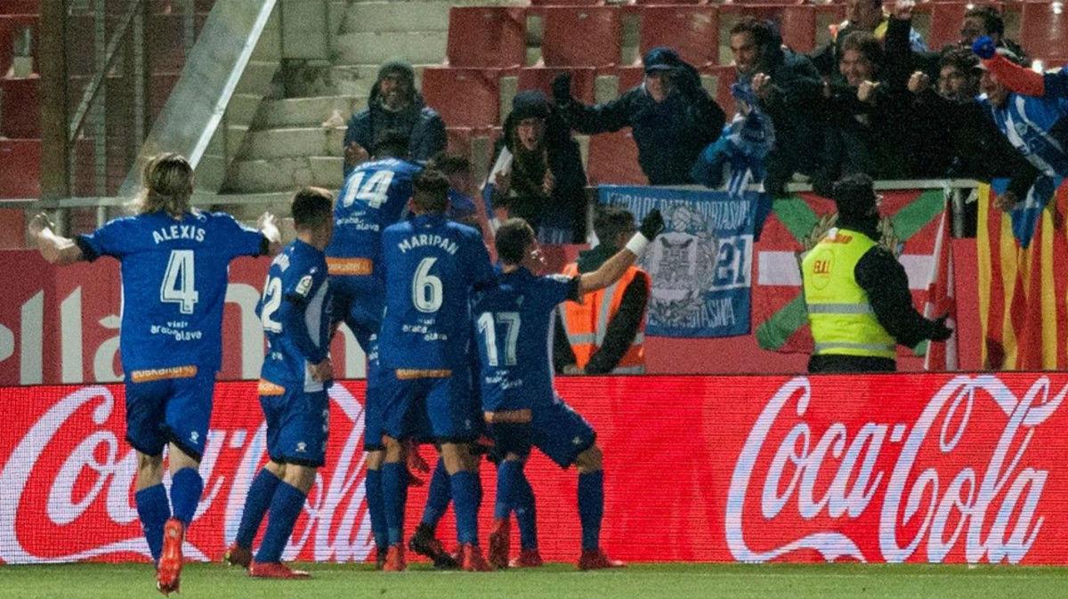 La Liga | Girona, 2 - Alavés, 3