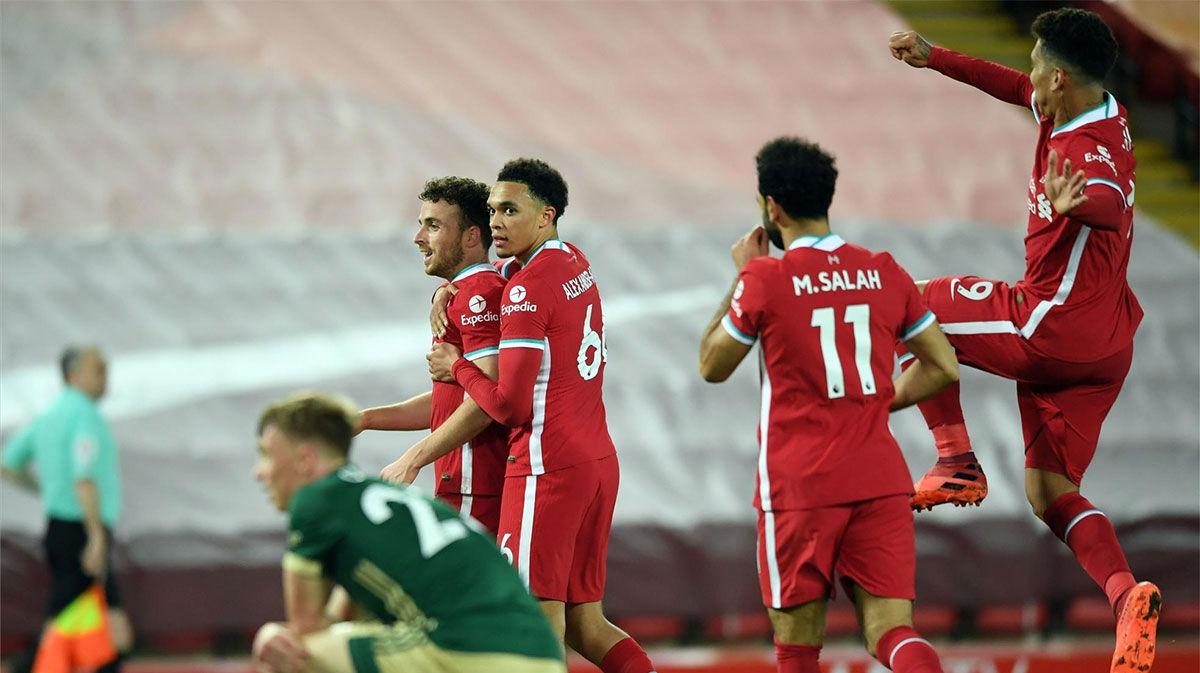El Liverpool vuelve a ganar a costa del Sheffield