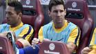 El 79% de los participantes en la encuesta no quieren que Messi sea titular en el Clásico de este sábado