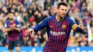 Marca ha rectificado y ha decidido que el gol es de Leo Messi