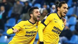 Martín Cáceres ha relanzado su carrera en el Hellas Verona