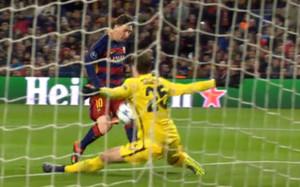 Messi firmó otra obra de arte frente a la Roma