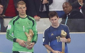 Messi fue escogido mejor jugador del Mundial