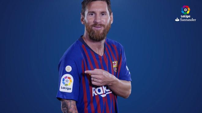 El Barça se estrenará como vigente campeón de La Liga con un logo conmemorativo